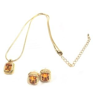 Set of Necklace and earrings NT-2